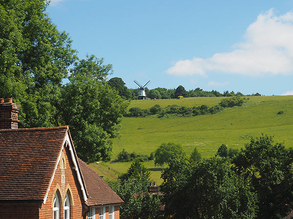 windmill on Turville Hill
